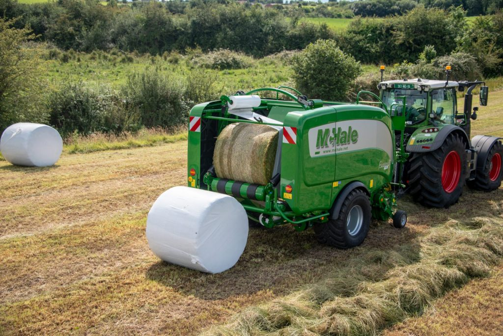 mchale fusion 3 pro integrated baler wrapper